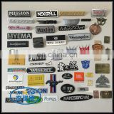 Custom Design Metal Aluminum Adhesive Label