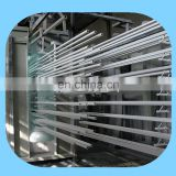 Aluminium Profile Powder Coating Booth production line with curing oven