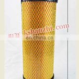 High performance forklift engine air intake cartridge filter for 3T 232Z1-02111