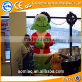 2016 christmas decoration led christmas light outdoor inflatable christmas grinch for sale