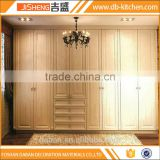 Fair price design veneer rubber wood wardrobe furniture