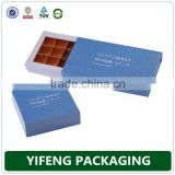 Custom perfect printing chocolate cake and wine kraft food paper with window sweet cardboard packaging box