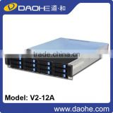 new product 2U server case 12bays storage server chassis hotswap chassis hotswap fanwall rackmount chassis