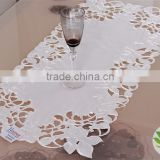 embroidered christmas tablecloth machine embroidery wholesale fabric for tablecloth lmzc1004(4)K