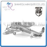 Piece Fun 3D Metal Puzzle military Avro Lancaster Bomber helicopter Adult DIY model educational toys NO GLUE NEEDED NO.PF 9102