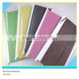 Plastic Banding Rhinestone Sew on Stick on Ss6 2mm Crystal 1x200 Pcs 10 Yards                                                                         Quality Choice