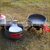China Factory camping cast iron cookware made in china