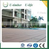 Techwood WPC decking floor for outdoor like garden patio and swimming pool