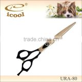 URA-80 BLACK RUBBER COATING PET GROOMING PET SHEAR