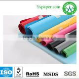 110gsm white writing offset paper laminated black paper back side