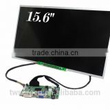 15.6 inch TFT LCD PANEL with 1366x768 resolution with display kits for Industrial PC,TWS156LXW