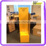 Pos custom printed decorative and fancy retail promotional Amazon magazine cardboard display