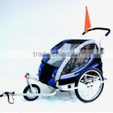 trailer and jogger children baby bicycle trailer