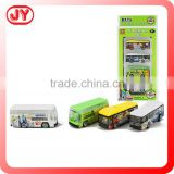 High grade design free wheel mini bus toy for kids