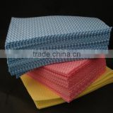 spunlace nonwoven wiper, auto cleaning wipe, nonwoven fabric cleaning wipe