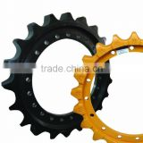 excavator sprocket,dozers sprocket,star roller,segment group,tooth segment,sprocket wheel