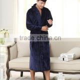 Bath Robe Female Night Gown Men Spa Flannel Bathrobe Unisex Pajamas Thick Long Sleeve Nightgown Sleepwear kimono womens gowns