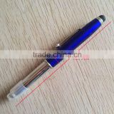 alibaba china pen supplier Blue Light Tip Pen, stylus touch screen pen
