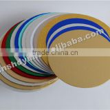 high quality round cake board with white paper sticked                                                                         Quality Choice