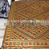Embroidery Thread-work Handcrafted Bed Sheet Beddings