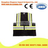 baby vest 2016 vest with weights kids reflective clothing black safety reflective jacket