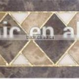 Polished crystal tiles factory ceramic border tiles hall floor tiles patterns