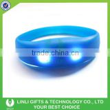 Led Motion Activated Light Up Silicone Bracelet