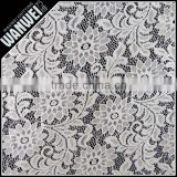 Chrysanthemum flower elastic bright fabric manufactur selling spandex nylon lace fabric wholesale K-166
