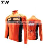 fasion winter thermal fleece cycling jersey/cycling jacket with tight pants for sale