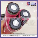 IEC60502 6KV 10KV Aluminum Conductor XLPE Insulated 11KV ABC Cable High Voltage ABC Cable