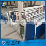 Paper rewinding and perforating machine/toilet paper jumbo roll rewinding machinery/toilet paper roll cutting machine