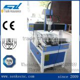 High quality mini cnc router 4 axis for metal engraving with high speed