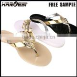 Hot sales women's pvc plastic jelly sandal shoe , pvc shoe fashion jelly shoe 2016                                                                         Quality Choice