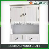 Hot Sell and Fashion Wooden Storage Bathroom Cabinet