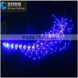 Whole patent whole sale new design copper wire tree light with 10 strings 10 cm distance