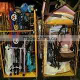 Useful used household items with mixed plastic products by 40 FT HQ container exported from Japan TC-009-92