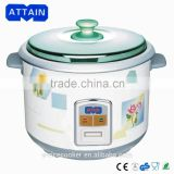 rice cooker with spoon and measuring cup