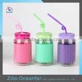 Innovative Products 2016 Glass Drinking Jar Recycled Colored Wholesale Mason Jars For Juice