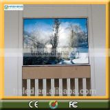 glass led display digital wall clock led display p10 indoor led display module