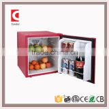 38L Low Noise Solid Door And Glass Door Hotel Guest Room Mini Bar Fridge With ETL, CE, Rohs Approvals