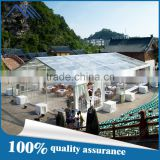Big cheap party/wedding tent with clear roof and side walls                                                                         Quality Choice