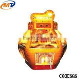 Mantong Golden Fort Coin pusher redemption game machine for sale
