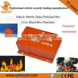 Patented Vehicle Mobile Protected Data Box ,Car Black Box function,waterproof / fireproof