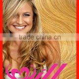 Gold hair clip in extension human hair clip in curly hair extensions most popular european hair 20 clip in hair extensions