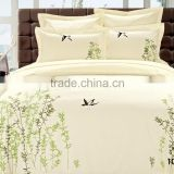 Customized hot selling printed pattern bed cover setbed sheet