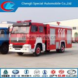 China made fire engine manufacturer fire fighting truck new condition fire sprinkler truck 4X2 Sinotruk