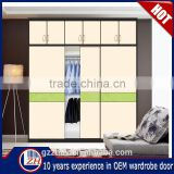 Home furniture bedroom wardrobe door design closet sliding door wooden wardrobes cabinet modern model acrylic wardrobe door