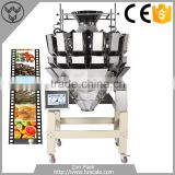 High Quality Fruits Vegetable Sea Food Shrimp Multihead Weigher
