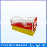 Factory sale hight guality and low price frozen food display freezer used in supermarket or store