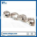 Different kinds stainless steel single ear Hose Clamp manufacturer